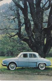 Dauphine, standard size postcard, US market, approx. 1966