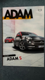 Adam / Adam S / Adam Rocks brochure, 60 large pages, 03/2016, Dutch language