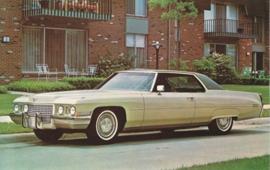 Coupe DeVille, US postcard, standard size, 1972