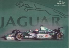 R1 Formula 1 racecar,  large postcard, 16 x 11 cm, Turin motorshow 2000