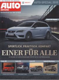 Leon brochure, 8 pages, 06/2015, German language (Auto Zeitung reprint)
