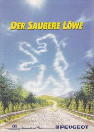 Engine program brochure, 24 pages, A4-size, 8/1986, German language