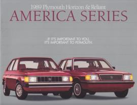 Horizon & Reliant America series brochure 1989, 12 pages, 09/1988, USA