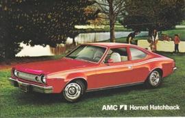 Hornet Sportabout, US postcard, standard size, 1974