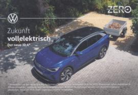 ID.4 SUV postcard, DIN A6-size, German language, 10/2020