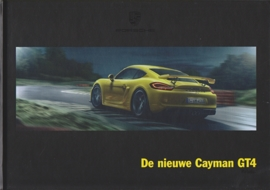 Cayman GT4 brochure, 68 pages, 02/2015, hard covers, Dutch