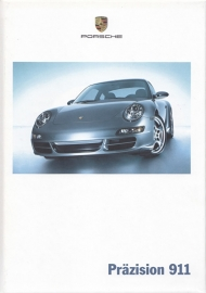 911 Carrera brochure, 132 pages, 04/2004, hard covers, German