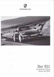 911 Carrera pricelist, 106 pages, 06/2009, German