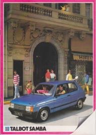 Samba, 20 pages, Dutch language, 1983