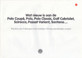 Program brochure, 12 pages,  A4-size, Dutch language, 08/1983