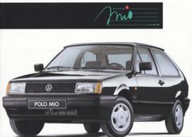 Polo Mio brochure, A4-size, 4 pages, Dutch language, 10/1992