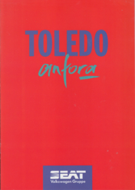 Toledo Anfora brochure, 8 pages, 9/1994, A4-size, German language