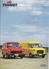 Transit Van brochure, 20 pages, 09/1975, Dutch language (Belgium)