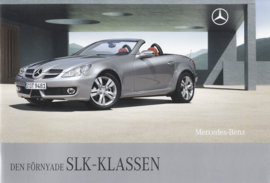 SLK-class brochure, 36 pages, 12/2007, Swedish language