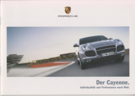 Cayenne brochure, 16 pages, 11/2004, German