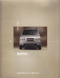 Vitara brochure, 12 pages, 1999, USA