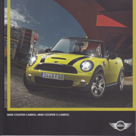 Cooper / Cooper S Cabrio brochure, 36 pages, German language, 02/2009