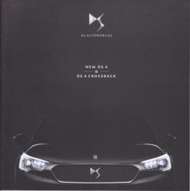 DS4 & DS4 Crossback brochure, 56 pages, 10/2015, Dutch language
