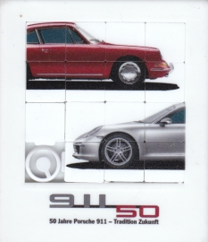 Porsche 911  50 years, sliding puzzle, factory-issued