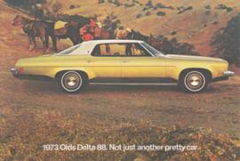 Delta 88 postcard, USA, 1973