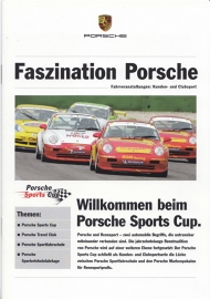 Fascination Porsche special Sports Cup, 12 pages, 11/2005, German language