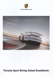 Sport Driving School Scandinavia brochure, 12 pages, about 2014, Swedish language