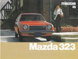 323 brochure, 12 pages, 01/1977, Dutch language