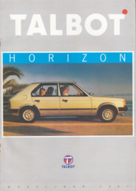 Horizon, 24 pages, Dutch language, 1981