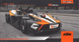 KTM X-Bow R/RR brochure, 24 pages, 2/2013, English language