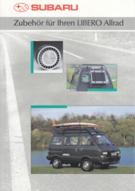 Libero Allrad accessories brochure, 4 pages, German language, 05/1991