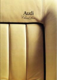 V8 Classic Line brochure, 8 pages, about 1990, German language