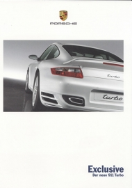 911 Turbo Exclusive, 8 pages, 06/2006, German