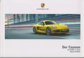 Cayman/Cayman S pricelist, 94 pages, 04/2013, German