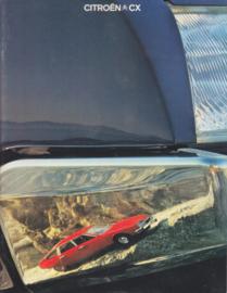 CX brochure, 32 pages, 1979, Dutch language