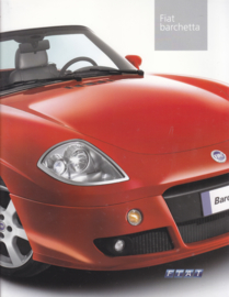 Barchetta Cabriolet brochure, 20 pages (almost A4), 06/2003, German language