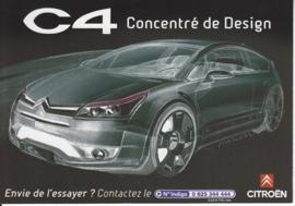 C4, Cart'Com freecard, A6-size, 2005, French language