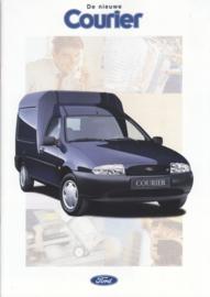 Courier Van brochure, 30 pages, size A4, 12/1995, Dutch language