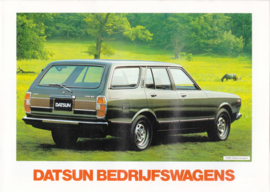 Stationwagons brochure, 6 pages, Dutch language, 01/1978
