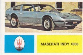 Maserati Indy 4900, 4 languages, # 109