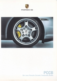 Ceramic brakes - PCCB brochure, 12 pages, 06/2004, German language