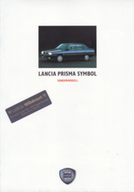 Prisma Symbol special edition folder, A4-size, 6 pages, 1988, German language