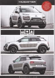 C4 Cactus Cross by Musketier brochure, 2 pages, 2016, German language
