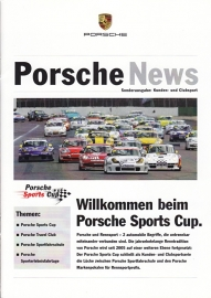 News special with 911 Sports Cup, 16 pages, 11/06, German language
