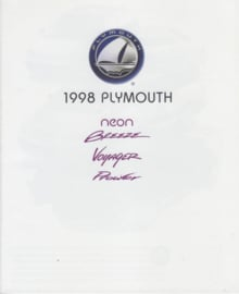 Program all models 1998, 24 pages, USA