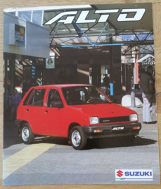 Alto GLS 5-door brochure, 6 large pages, 06/1993, Dutch language
