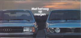 Audi & Volkswagen all model brochure, 20 pages, about 1983, Dutch language