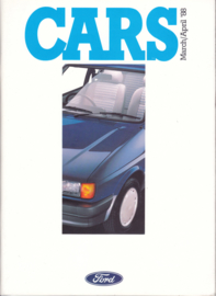 Cars UK all model brochure, 140 pages, 03/1988, English language