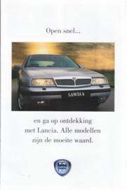 Program brochure, A4-size, 16 pages, 1998, Dutch language (Belgium)