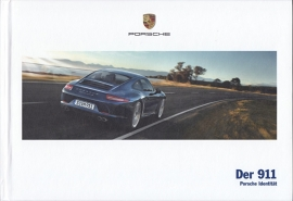 911 Carrera brochure, 148 pages, 03/2014, hard covers, German