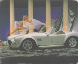 AC Cobra, mouse mat, used, no text